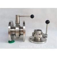 """Wholesale 1"""" TP316L Sanitary Stainless Steel Valves And Butterfly Vavles ASTM A270 from china suppliers"""