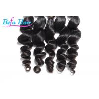 Wholesale Grade 7A Natural Black Peruvian Loose Wave Virgin Hair Extensions 30 Inch from china suppliers