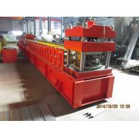 Buy cheap Door Frame Metal Roll Forming Machine With Automatic Punching 3 - 5 m / min from Wholesalers