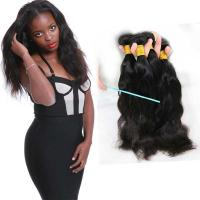 Wholesale 100 Unprocessed Natural Wave Human Hair Extensions Natural Looking No Tangle from china suppliers