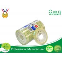 Wholesale Clear Bopp Stationery Tape For Office Paper Sealing 5-100m Length from china suppliers