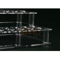 Wholesale Customized Clear Acrylic Makeup Display Stand Lipstick Display Holder from china suppliers