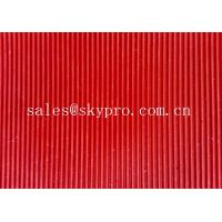 Wholesale Commercial Anti-fatigue Wide / fine ribbed flooring rubber mats 3mm thick min. from china suppliers