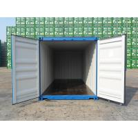 China 20' X 8' X 8'6 Cargo Shipping Container Steel Dry 1 Pair Of Forklift Pocket for sale