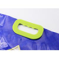 Wholesale Solid Carry Weight Plastic Bag Handles Clasp Type With 6 Holes Fasten On Rice Bags from china suppliers