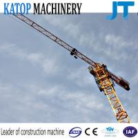 Wholesale 5t low price with good work TC5010 flat top tower crane from china suppliers