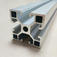 Wholesale Fine Metal Anodize Aluminum Spare Parts T Slot Extruded Frame Profile from china suppliers