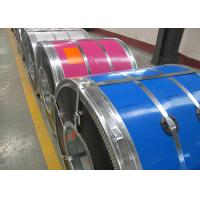 Wholesale HDGI PPGI PPGL Color Coated Galvanized Steel Coil , Zinc Coating Colour Coated Steel Coils from china suppliers