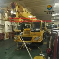Wholesale Construction Telescopic Boom Crane , 30 Ton Hydraulic Mobile Truck Crane QY30K5-I from china suppliers