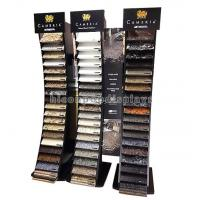 Wholesale Black Wood Metal Cambira Stone Showroom Display Stand Freestanding For Tiles from china suppliers