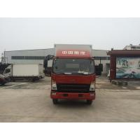 China Small Refrigerated Box Truck 1 To 10 Tons For Transporting Frozen Foods on sale