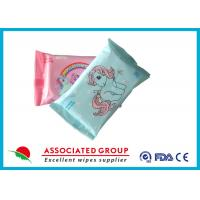 Buy cheap Mini Size Baby Wet Wipes For Hand / Mouth Cleaning 10PCS Flowpack from wholesalers