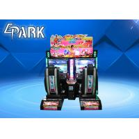 China Double Players Outrun Racing Simulator Car Driving Simulator Coin Operated Game Machine Arcade Racing Game Machine on sale