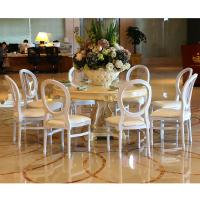 China Hot Sale Clear Banquet Chair Elegant white Banquet Hall Chair Used for Sale on sale