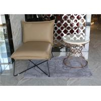 Wholesale Luxury Customized White Hotel Coffee Table Stainless Steel / Metal Frame With Hotel Chair from china suppliers