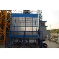 Wholesale Rack and Pinion Building Material Hoisting Equipment / Construction Lift 1T - 3.2 Ton from china suppliers