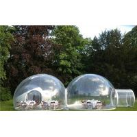 Wholesale Popular Waterproof Inflatable Clear Tent With Duble Room Cabin from china suppliers