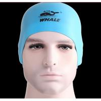 Wholesale 3D Design  Reversible Silicone Swim Cap light weight and durable from china suppliers