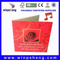 Wholesale musical wedding cards from china suppliers