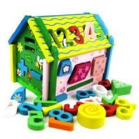 Quality Wooden Building Blocks, Wooden Intellectual & Educational Toys for sale