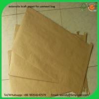 Wholesale BMPAPER Super Quality Uncoated Kraft Paper Roll By Waste Paper for cement bags from china suppliers