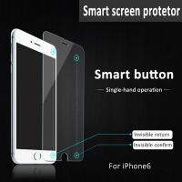 China Premium Smart touch Tempered Glass Screen Protector for iPhone 6 for sale