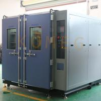 China 7L Double Door Walk-In Chamber With Programmable KM -5166 LCD Touch Screen Controller on sale