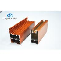 Wholesale Nature Color Wooden Grain Aluminium Door Frames Alloy 6063 ISO Approval from china suppliers