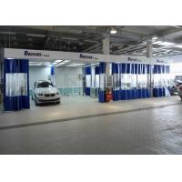 Buy cheap 6.3M Rear Side Draft LED lights Paint Prep Station Spray Booth For BMW Workshop from wholesalers