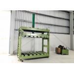China Zinc Coated Reno Gabion Mesh Press Machine / Gabion Mattress With Automatic Oil System for sale