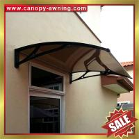 Wholesale window door polycarbonate canopy with cast aluminium bracket,aluminium awning,diy awning,canopies,great outdoor shelter! from china suppliers