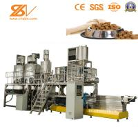 China Industrial Food Processing Equipment , Dog Food Maker Machine Field Installation on sale