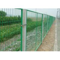 Wholesale School / Highway Welded Wire Mesh Fence Panels With Vandal Resistant from china suppliers