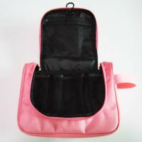 Wholesale Hanging Travel Toiletry Bag Organizer Pink Color For Womens from china suppliers