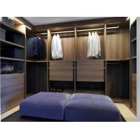 Wholesale Wardrobe Closet cloth cabinets made by Walnut wood storage drawers from china suppliers