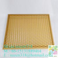 Wholesale expandable sheet metal diamond mesh / 1.22 x 2.44 m expanded metal from china suppliers