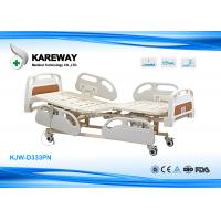 Three Functions Electric Care Hospital Bed With Plastic Base In X-Ray Room