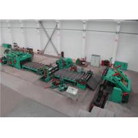 Wholesale 6CrW2Si Blade Sheet Metal Slitter , Sheet Metal Slitter Machine Customized Power Supply from china suppliers