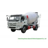 China YUEJIN 5m3 Small Concrete Mixer Truck With Pump , 4x2 Mobile Mixer Truck for sale
