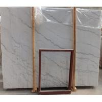 China Guangxi white Marble Stone Slab tile countertop for kitchen / bathroom for sale