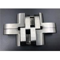 China Wood Door Stainless Steel Concealed Hinges With SS 304/201 Connecting Arms on sale