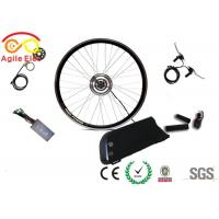 China Portable Electric Bike Wheel Motor Kit With Double Walled Aluminium Alloy Rim on sale