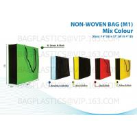 Wholesale NON WOVEN sacks, pp woven bags, nonwoven bags, woven bags, big bag, fibc, jumbo bags,tex from china suppliers