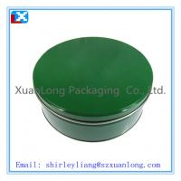 Wholesale Metal Cake Packing/Round Tin Can for chocolate from china suppliers