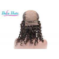 Wholesale Virgin Remy Deep Curl Human Hair Lace Front Wigs 20 Inch / 30 Inch from china suppliers