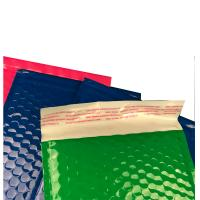 Wholesale Strong Glue Plastic Bubble Mailers Shinny Surface Easy For Writing / Printing from china suppliers