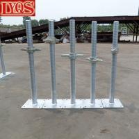 """Buy cheap Scaffold Screw Jack Galvanized 24"""" X 1-3/8"""" w/ Forged Nut for Adjust Scaffolding from wholesalers"""