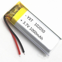 Wholesale Custom PL102050 1000mAh 3.7 V Lithium Ion Polymer Battery for sale from china suppliers