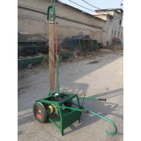 China Big power gasoline chain saw wood log cutting machine with best price for sale