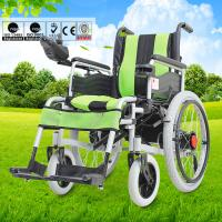Wholesale Big Wheel Manual And Electric Folding Wheelchair With Spray Material For Disabled People from china suppliers